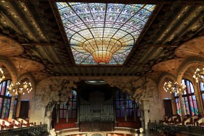 妻と初めてのスペイン旅行(3) バルセロナ 2日目