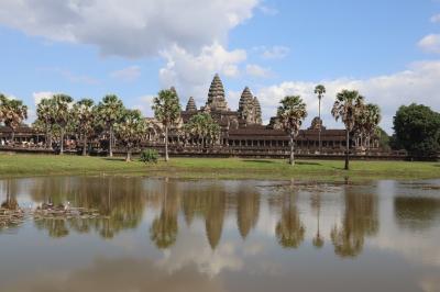 タイ、カンボジアの遺跡巡り(1) アンコールワット周辺とシェムリアップの街歩き