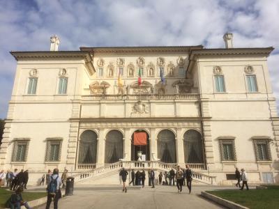 68才一人旅 ローマ・ナポリ11日間④ボルゲーゼ美術館、スペイン広場