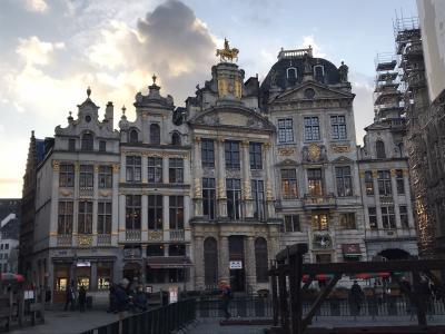 2019年11月 オランダ・ベルギー世界遺産巡りその2【2日目】ブリュッセル街歩き編
