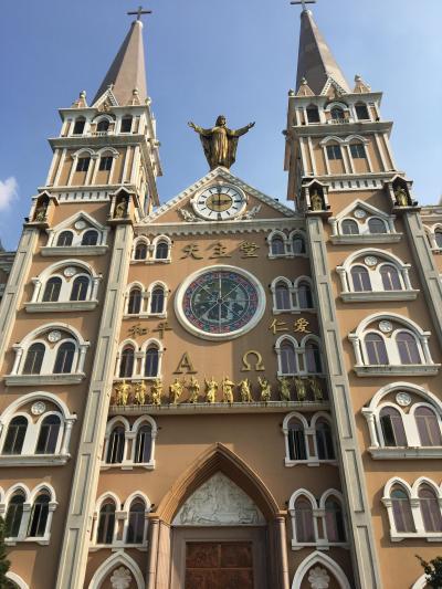 中国深セン:教会を見に行く・・とその前に【楽飯屋】でランチ