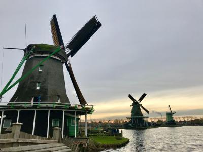 2019年11月 オランダ・ベルギー世界遺産巡りその6【5~6日目】ザーンセ・スカンス観光~帰国編