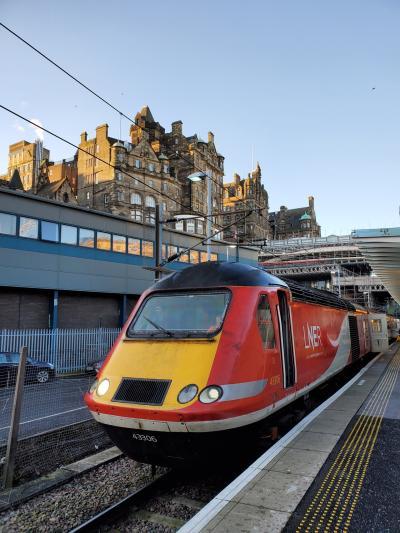 初めての1人海外旅行 イギリスに行ってみた その5(LNERに乗ってみた編)