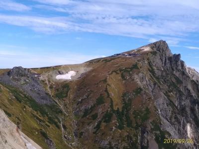 白馬岳(1/2)登頂まで