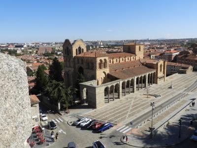 マドリッドの周辺にちらばる城塞都市を回った。 4.アヴィラ、ロマネスクの聖堂