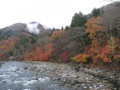 絵画クラブで塩原温泉郷で紅葉を楽しむ旅を・・・
