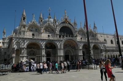 イタリア旅行記③ ベネチア1日目(ドゥカーレ宮殿、サンマルコ寺院編)