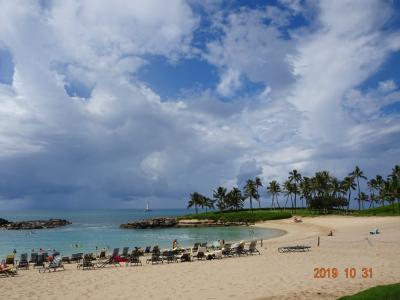 2019年11月Hawaii①体験コオリナマリオット