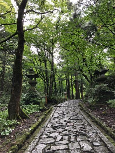 大山旅行1泊2日(パワースポットの大神山神社、賽の河原へ)
