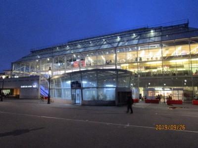 ブルゴーニュ・アルザス地方のワイン旅行: パリリヨン駅(Gare de Lyon)とレストランLe Train Bleu