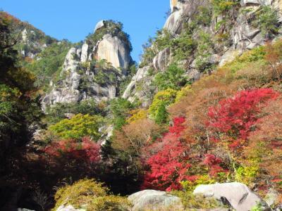 2019紅葉めぐりの旅2 甲斐善光寺と紅葉の昇仙峡へ