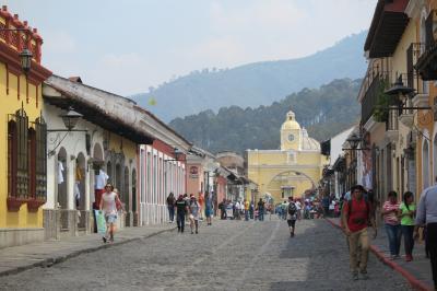 かつてのグアテマラの首都 アンティグアの街 -2019年 中米 12-