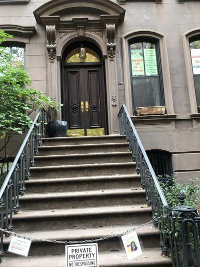 ニューヨーク海外ドラマロケ地巡り②SATC(キャリーの家)「キャッスル~ミステリー作家は事件がお好き」