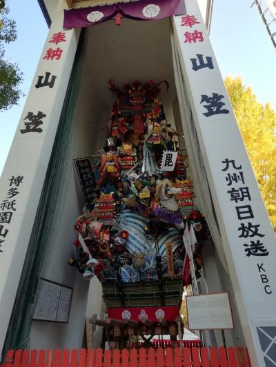 博多街歩き、櫛田神社、キャナルシティ、元祖長浜ラーメン