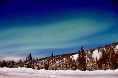 人生で一度は見たい!オーロラとアラスカの大地!①