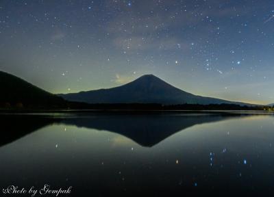 山中湖ロッジ滞在記11月編(3) オリオンを狙って富士山周囲を半周