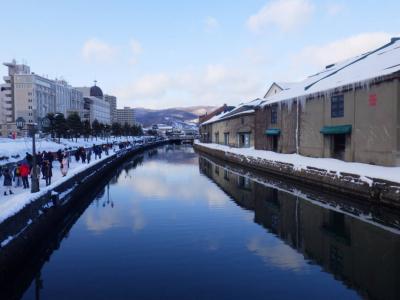 小樽散歩2019年1月(「ふっこう割」でさらっと小樽で一泊)