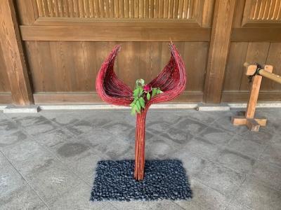 明治神宮鎮座百年祭奉祝の花