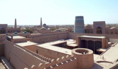 中央アジアの旅 第9日目 終日ヒワ観光