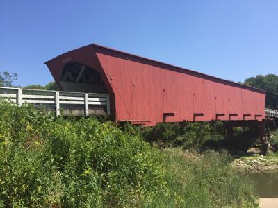 アイオワ州 ウィンターセット - ローズマン ブリッジ