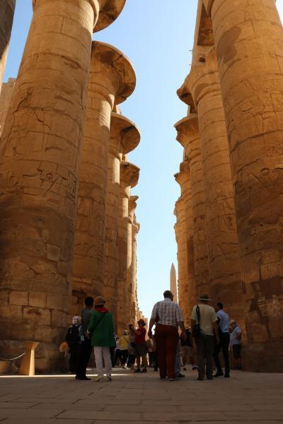先人達からの力を頂く旅(1)エジプト ルクソール東岸で不思議な出来事が起こり、その後カルナック神殿へ