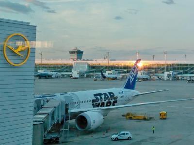 ミュンヘン空港第2ターミナルの有料シャワー