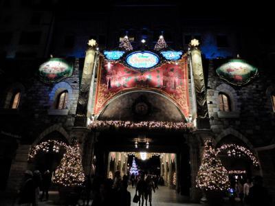 東京ディズニーシークリスマス2019の旅 ナイトタイム編