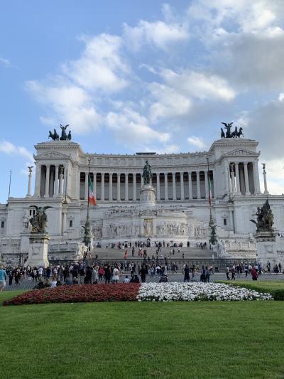 イタリア・ローマの休日へ ~ローマ1日目