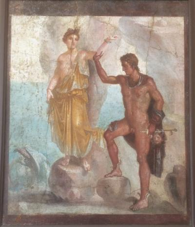68才一人旅 ローマ・ナポリ11日間⑤ナポリ。国立考古学博物館、カポティモンテ美術館