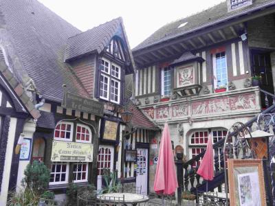2019年秋のノルマンディ2 ペイ・ドージュの素敵な町と村 その1 ディーヴ・シュル・メール Dives-sur-Mer