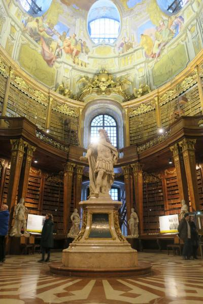 2018.FEB ウィーン国立図書館&国連内部の見学ツアーに参加しよう