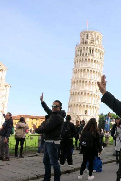 2019深秋 初イタリアはツアーで8日間 ④ピサからフィレンツェへ