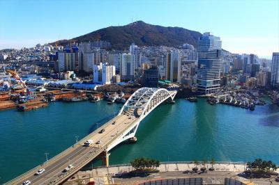 慶州と釜山の旅(6)最終日はスカイパークとチャガルチ