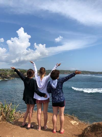 バリ島へ~♪ 3日目 レンボンガン島へ