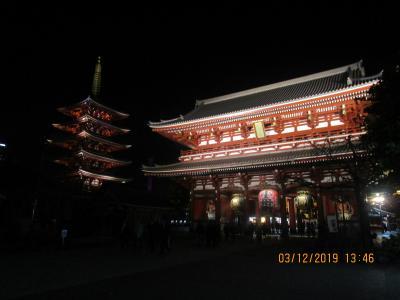 浅草の夜 グルメ・ふぐ会席