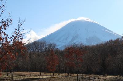 富士散策公園2(山梨県富士吉田市)へ立ち寄り・・・