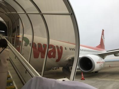 初めてのTway航空で寒いソウルで熱いミュージカル
