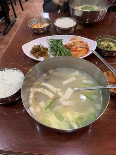 韓国初めての妹と行く12月ソウル 1-1  約束も美活もあって結構盛り沢山