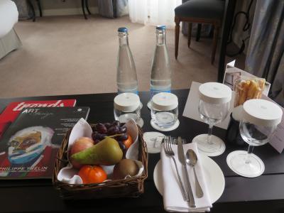 スイス景勝地を訪ねて 7 天国のようなヴヴェー LHWの恩恵で極楽ホテルステイ 到着・ランチ編!