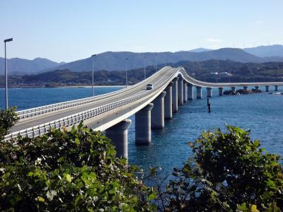 晩秋の九州旅行 1   青海島、角島、日出、原尻の滝、やまなみハイウェイ、阿蘇、草千里