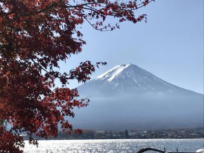 河口湖へ 富士山と出会う旅 ②