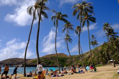 ハワイ旅行記2019 9月5日 ハナウマ湾で海水浴編