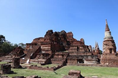 タイ、カンボジアの遺跡巡り(2) アユタヤ遺跡