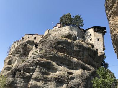 キプロスとギリシャ12日間の旅⑬ Visit Meteora社の半日ツアーでメテオラ修道院巡り2日目