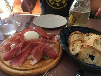 キャセイパシフィック航空で行くイタリア新婚旅行②1日目イタリア料理inローマ編