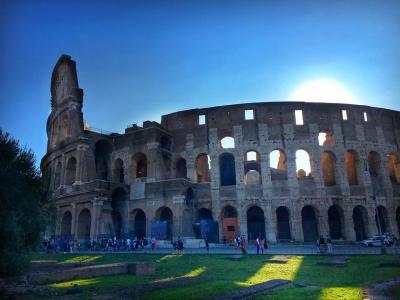 キャセイパシフィック航空で行くイタリア新婚旅行③コロッセオ観光攻略inローマ編