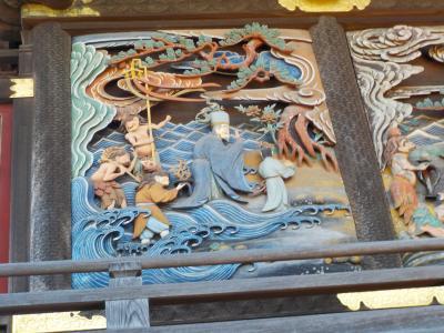 板倉雷電神社。渡良瀬遊水地