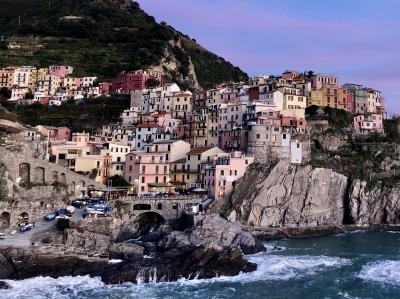 2019年北イタリアの小さな街々を訪ねる周遊ツアー【その4・チンクエテッレ・マナローラ編】