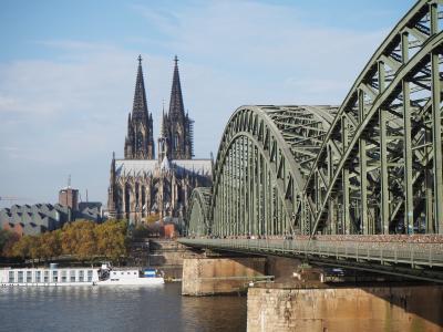 2019秋 独白ルクセンブルク ①フランクフルト到着後、まずは駅前世界遺産のケルン大聖堂へ