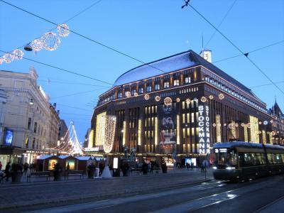 ヘルシンキ1日観光と、フライト欠航による延泊